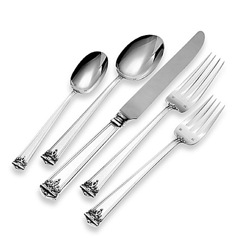 Tuttle Trianon Sterling Silver Flatware 5-Piece Place Setting
