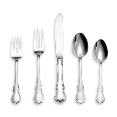 Towle® Silversmiths French Provincial® Sterling Silver Flatware 5-Piece Place Setting