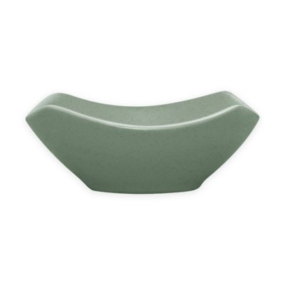 Colorwave Small Square Bowl in Green