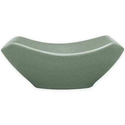 Colorwave Large Square Bowl in Green