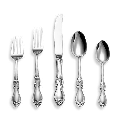 Towle® Silversmiths Queen Elizabeth I® Sterling Silver Flatware 5-Piece Place Setting