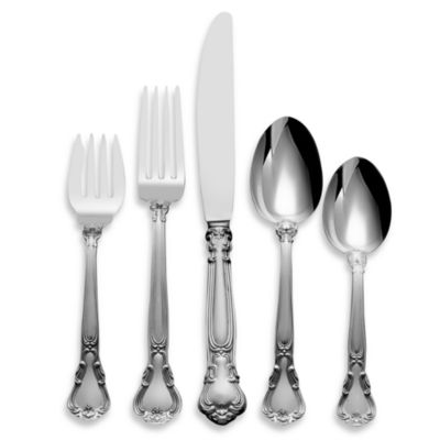 Gorham® Chantilly Sterling Silver Flatware 5-Piece Place Setting