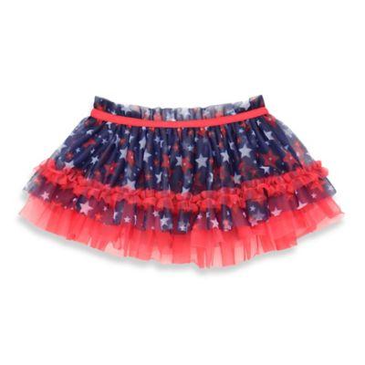 Baby Starters® Size 6M Americana Star Print Tutu in Navy/Multi