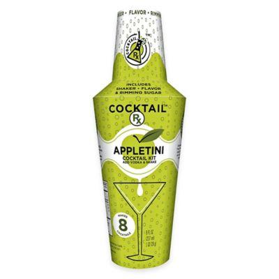 Cocktail Rx Appletini Shaker Kit