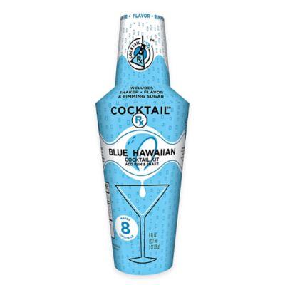 Cocktail Rx Blue Hawaiian Shaker Kit