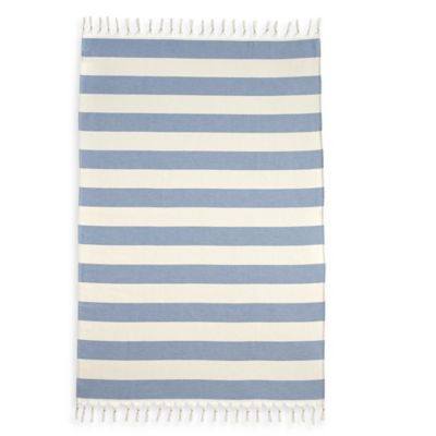 Striped Red Bath Towels