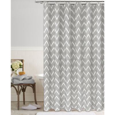 Chevron Dash Shower Curtain