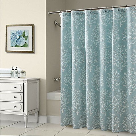 Croscill 174 Reef 72 Inch X 72 Inch Shower Curtain In Blue