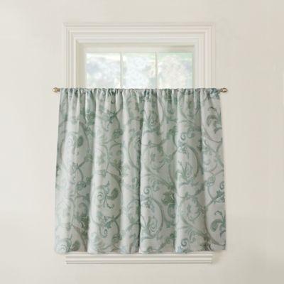 Savona Window Curtain in Blue