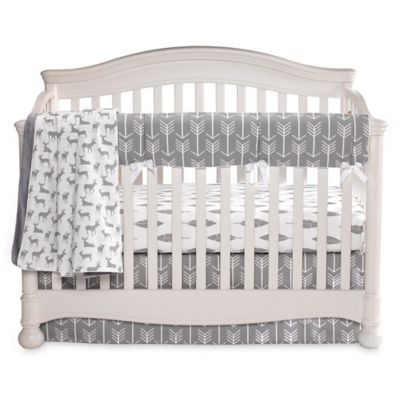 Liz and Roo Woodland 3-Piece Crib Bedding Set
