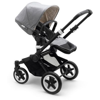Bugaboo Buffalo Classic Plus Collection Complete Stroller in Grey Mélange