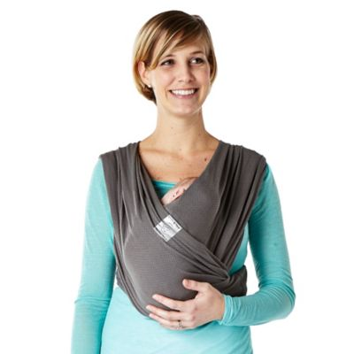 Baby K'tan® Breeze Small Baby Carrier in Charcoal