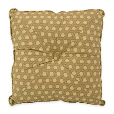 Waverly® Garden Glory Square Throw Pillow in Mist