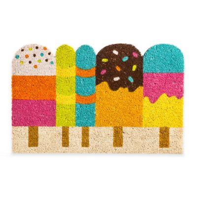 Popsicle Shaped Coir Door Mat