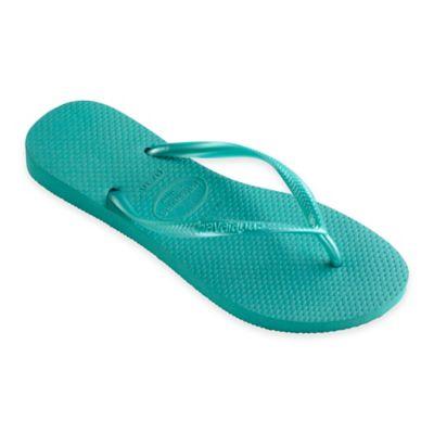 Havaianas® Size 6 Slim Women's Sandal in Lake Green