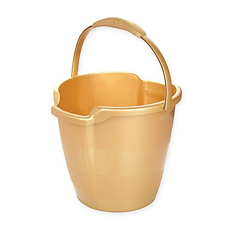 Buy Joy Mangano Miracle Mop 174 Bucket In Gold From Bed Bath
