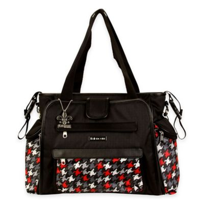 Kalencom® Nola Tote Multicolored Houndstooth Diaper Bag