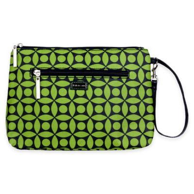 Kalencom® Diaper Clutch in Green Clover