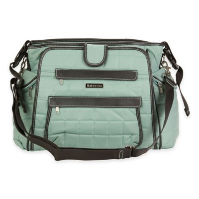 Kalencom® Nola Featherweight Quilted Tote Diaper Bag in Aquifer
