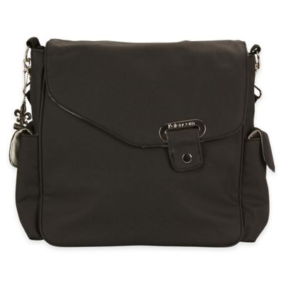 Ozz Messenger Bag in Black