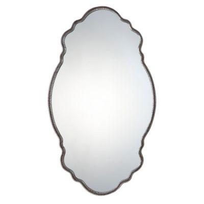 Uttermost 20.75-Inch x 36-Inch Samia Mirror in Silver