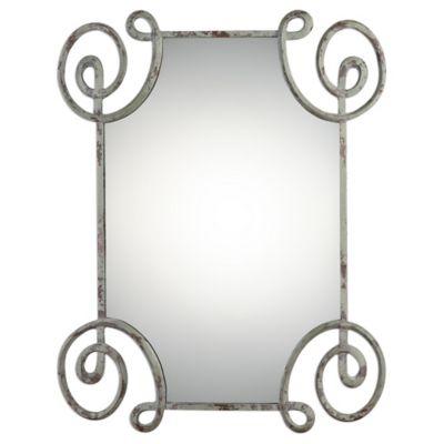 Uttermost 33.5-Inch x 42.5-Inch Rennes Mirror