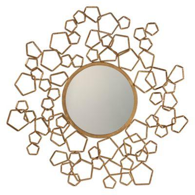 Uttermost 32.5-Inch Finnian Mirror in Gold
