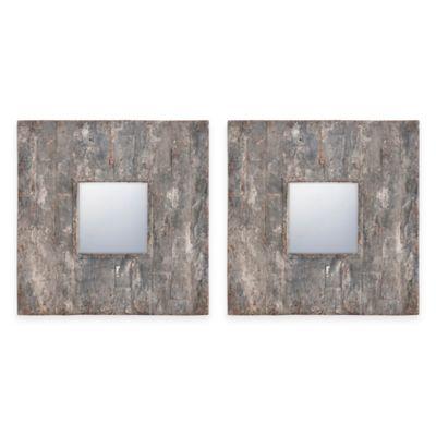 Uttermost 20-Inch Piera Mirror (Set of 2)