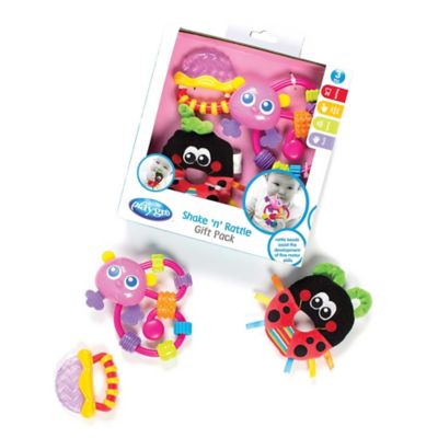 Playgro™ Shake and Rattle Gift Pack in Pink