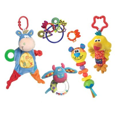 Playgro Blankie, Teether, and Pals Gift Pack