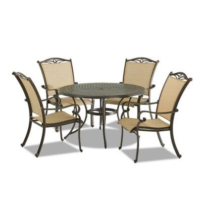 Klaussner Verona 5-Piece Outdoor Dining Set