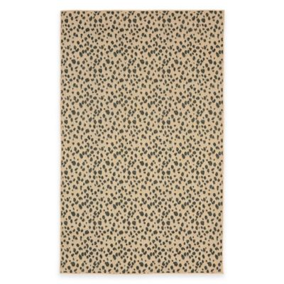 Liora Manne Terrace 1-Foot 11-Inch x 2-Foot x 11-Inch Indoor/Outdoor Rug in Neutral Spots