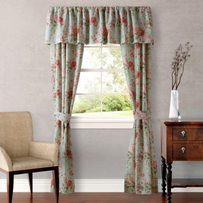 Laura Ashley® Vivienne Window Valance in Light Green