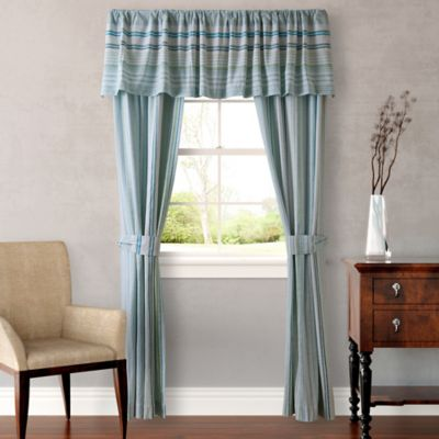 Tommy Bahama® La Scala Breezer Window Valance in Sea Glass