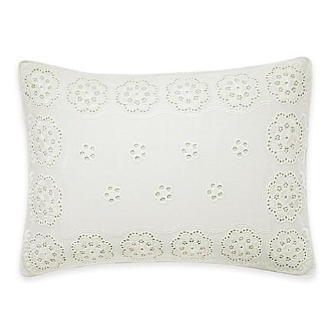 Buy Laura Ashley 174 Vivienne Breakfast Throw Pillow In White