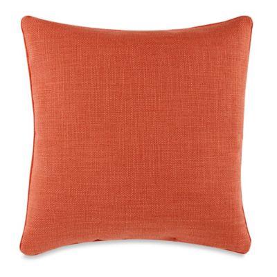 Teena Reversible Throw Pillow in Coral