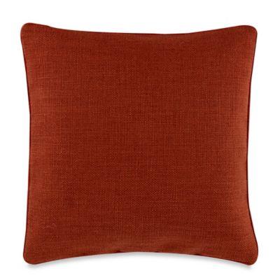 Teena Reversible Throw Pillow in Rust