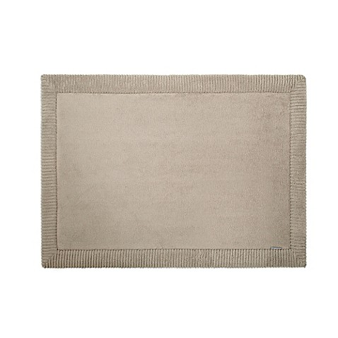 Microdry 174 Memory Foam Bath Mat With Griptex Base In Taupe