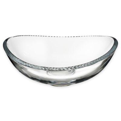 Nambe Crystal Braid 11-Inch Bowl