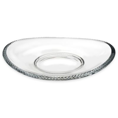 Nambe Crystal Braid 12-Inch Tray