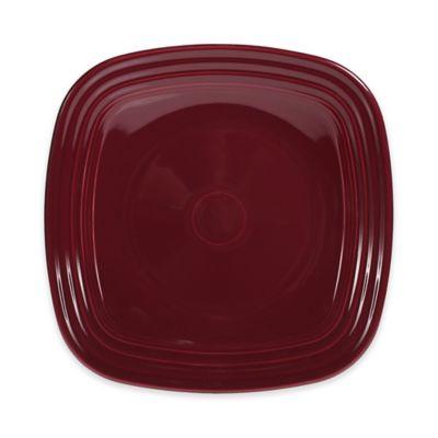 Luncheon Plate in Claret
