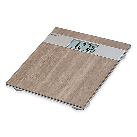 Buy homedicsr gray stone digital bath scale from bed bath for Bathroom scales at bed bath and beyond