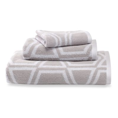 kate spade new york Bow Tile Bath Towel