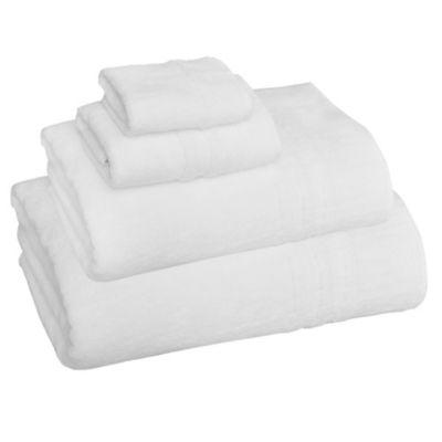 Aero Luxe Turkish Cotton Hand Towel in White