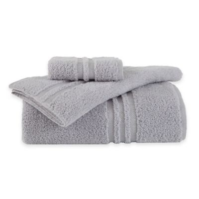 Under the Canopy® Unity Bath Towel in Chrome