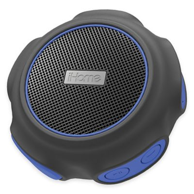 iHome® Waterproof Wireless Bluetooth® Speaker in Blue/Black