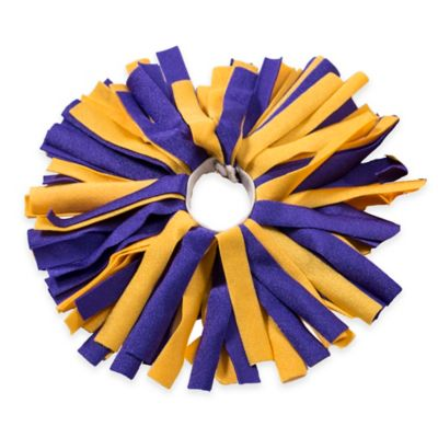 Pom ID Luggage Identifier in Purple/Yellow