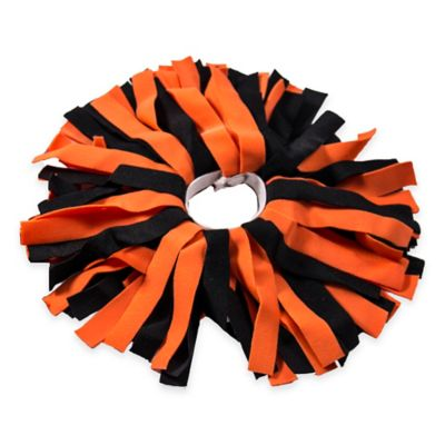Pom ID Luggage Identifier in Black/Orange