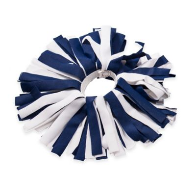 Pom ID Luggage Identifier in Navy/White