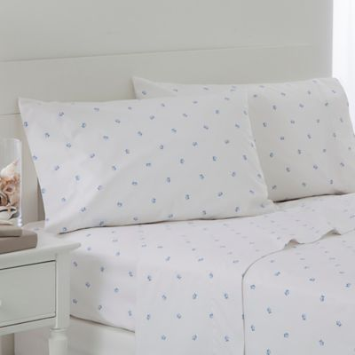 Southern Tide Tossed Skipjack King Pillowcases in Blue (Set of 2)